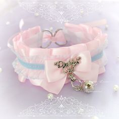 Buy directly from the world's most awesome indie brands. Or open a free online store. Daddys Little Princess, Daddys Girl, Kawaii Jewelry, Kawaii Accessories, Kitten Play Collar, Daddy Aesthetic, Accesorios Casual, Kittens Playing, Lace Bows