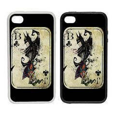#Batman #joker card -rubber and plastic phone #cover case- poker playing clown ba,  View more on the LINK: http://www.zeppy.io/product/gb/2/111907871014/