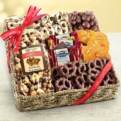 Acorn baking co bakery collection bakeries collection and gift chocolate caramel and crunch gift basket caa4055 negle Gallery