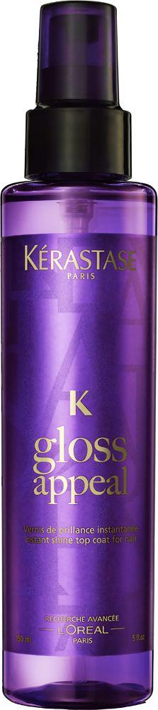 #GlossAppeal Spray on Shine from the @KérastaseUSA couture styling line! #KérastaseNYFW