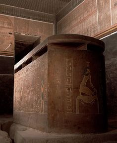 INTERIOR OF THE TOMB OF AMENOPHIS II