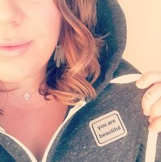 @girlwhocriedfavouritesong Rockin our new #yabsticker zip-up patch hoodie!! Thanks for sharing