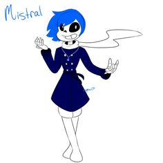 (Pic not mine credit to original artist) Hello I'm Mistral sister of sans and papyrus. I live near the ruins and am actually more powerful than my brothers combined. I don't really want to share how I got that way.