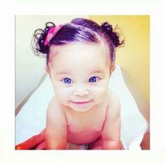 Baby Hair Dos, Toddler Hair Dos, Girl Hair Dos, Toddler Girls, Baby Hair Styles, Curly Hair Styles, My Baby Girl, Little Boy And Girl, Baby Girls