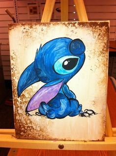 Stitch I love you! Lilo Stitch, Lelo And Stitch, Cute Disney, Disney Art, Walt Disney, Disney Drawings, Art Drawings, Dibujos Cute, Disney And Dreamworks