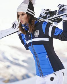 Love these colors Sport Style, Snow Fashion, Winter Fashion, Apres Ski Party, Spieth Und Wensky, Snow Outfit, Ski Wear, Winter Stil, Ski And Snowboard