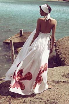 5 estilos de maxi vestido para verano | Moda en Serie