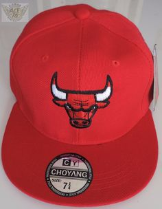 2052381d25945 Chicago Bulls Gorra Roja Cda.logo 7 1 4 (58cm) Nba Danbr68