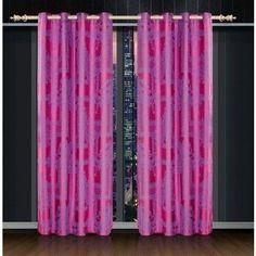 Dolce Mela Cliodna Window Treatment Damask Drapes Curtain Panel
