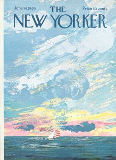 The New Yorker - Saturday, June 14, 1969 - Issue # 2313 - Vol. 45 - N° 17 - Cover by : Charles E. Martin