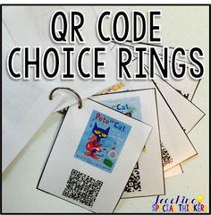 QR Code Choice Ring {Tutorial}                                                                                                                                                      More