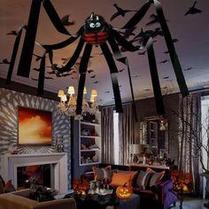 Festive & Party Supplies The Best Halloween Simulation Ghost Head Plush Spider Bar Ktv Home Garden Decoration Prop Diy Large Black Spider Foam Festival Supplies Home & Garden