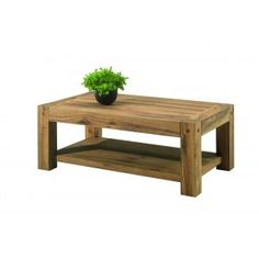 Maori and tables on pinterest - Table basse double plateau bois ...