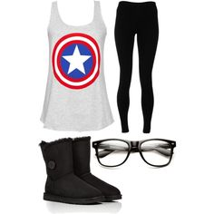 A fashion look from December 2014 featuring Solow leggings and UGG Australia boots. Browse and shop related looks.