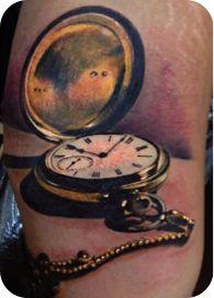 Pocket watch by Yomico Moreno