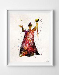 Jafar, Aladdin Print