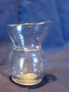 Check out this item in my Etsy shop https://www.etsy.com/uk/listing/518123683/vintage-clear-glass-eye-bath-eye-bath