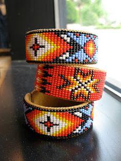 tribal cuffs - fair trade