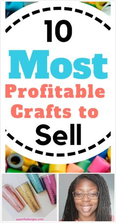 10 Most Profitable Crafts to Sell. Did you know that some of the best money making crafts can be made with a Cricut or Silhouette or any simple cutting machine?