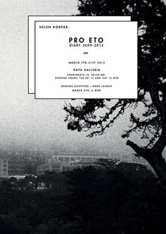 Napa Gallery - Pro Eto Exhibition poster