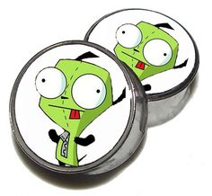 "Dancing Gir Plugs - 1 Pair (2 plugs) - Sizes 0g, 00g, 7/16"", 1/2"", 9/16"", 5/8"", 3/4"", 7/8"", 1"" - Made to Order on Etsy, $18.95"