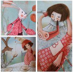 Alice In Wonderland do IG da @instaaniakozak Manuela Adreani