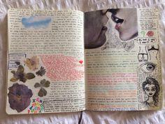 Junk Journal, Bullet Journal Art, Journal Aesthetic, Aesthetic Art, Art Journal Inspiration, Art Inspo, Arte Indie, Arte Sketchbook, Fashion Sketchbook