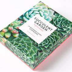 Succulent Garden Assorted Note Cards Price $14.95