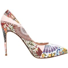 Dolce & Gabbana Sicilian Print Pump