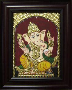 Ganesha - 8x10in - sumarts.biz/