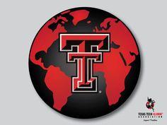 Happy Earth day from TTAA! Texas Tech Logo, Texas Tech Football, Texas Tech Red Raiders, Tt Logo, One Of Us, Puzzle Crafts, Texas Tech University, Happy Earth, Music Jewelry