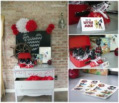 Nellie Design: Vintage Mickey Mouse Birthday Party