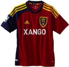 MLS Real Salt Lake Replica Youth Home Jersey adidas. $51.34