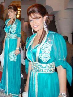 caftan turquoise
