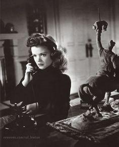 1942 'Cat People' - Irena Dubrovna Reed (Simone Simon)
