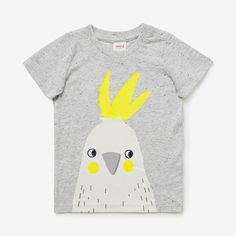 Shop now: Cockatoo Print Tee. #seedheritage #seedbaby