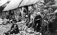 The Famine in Ireland - 1848...Ireland lost about 1 million people to either starvation, disease, or emmigration to other lands. That was half of its population.