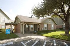 The leasing office at The Arbors of Corsicana in Corsicana, TX