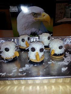 Chalk Talk: A Kindergarten Blog: Tasty Bald Eagle Snacks