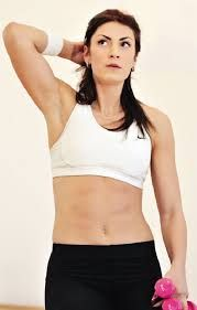 Image result for Ivana Spanovic Healthy Life, Crop Tops, Bra, Fitness, Sports, Image, Beauty, Women, Food