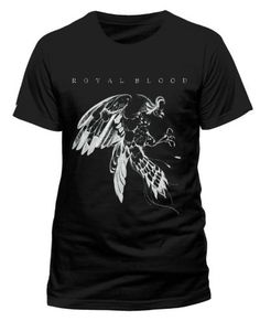 Royal Blood (Bird) Black T-Shirt available to buy from firebrandstores.    25
