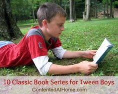 10 Classic Book Series for Tween Boys | Contented at Home Including Tom Swift...Awesome!