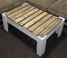 recycled pallets made table