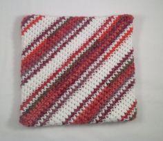 Crochet Potholder Crochet Hot Pad Handmade by AlwaysStitches