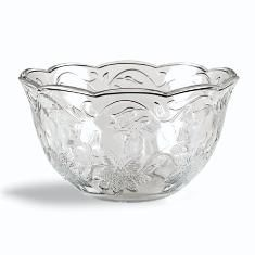 Fantasia®   Clear Scalloped Bowls