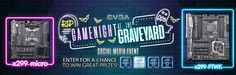 Enter TeamEVGA's Game Night at the Graveyard Social Media Event to win great prizes from @TEAMEVGA & @INTELGAMING! #GameNight