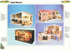 Caroline's Home - 1980s catalogue. I'm sure my dollshouse was one of these.