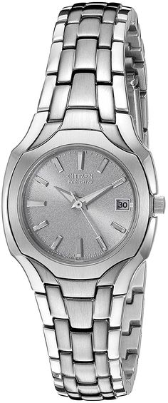 Citizen Eco-Drive Women's Stainless Steel Watch -- Check out the image by visiting the link.