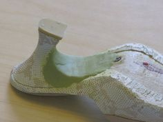 making 18th Century mules from modern shoes