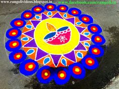 Rangoli Designs Images for Diwali gives you the collection of Rangoli designs that is so intense and attractive. Best Rangoli Designs Images for Diwali. Easy Rangoli Designs Diwali, Best Rangoli Design, Simple Rangoli Designs Images, Small Rangoli, Rangoli Ideas, Beautiful Rangoli Designs, Kolam Designs, Simple Designs, Diya Rangoli
